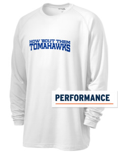 Merrimack High School Tomahawks Men's Ultimate Performance Long Sleeve T-Shirt