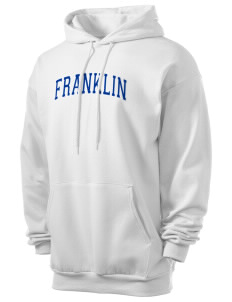 Franklin Middle School Hurricanes Men's 7.8 oz Lightweight Hooded Sweatshirt