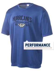 Franklin Middle School Hurricanes Men's Competitor Performance T-Shirt