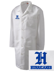 Franklin Middle School Hurricanes Full-Length Lab Coat