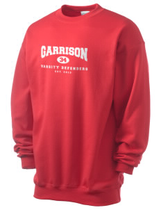 Garrison Elementary School Defenders Men's 7.8 oz Lightweight Crewneck Sweatshirt