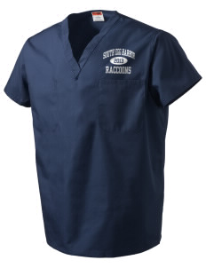 South Egg Harbor Elementary School Raccoons V-Neck Scrub Top