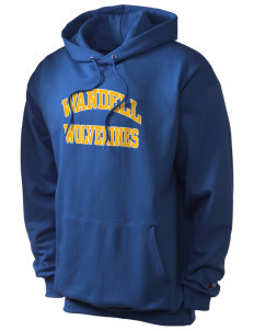 Wandell Elementary School Wallabees Champion Men's Hooded Sweatshirt