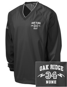 Oak Ridge none Embroidered adidas Men's ClimaProof V-Neck Wind Shirt
