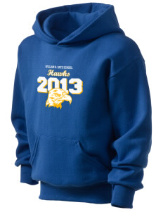 William R. Satz School Hawks Kid's Hooded Sweatshirt