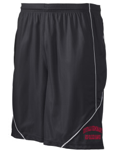 "Buffalo Seminary Red-Tailed Hawks Men's Pocicharge Mesh Reversible Short, 9"" Inseam"