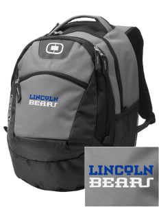 Lincoln Middle School Bears Embroidered OGIO Rogue Backpack