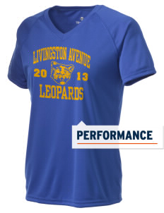 Livingston Avenue Elementary School Leopards Holloway Women's Zoom Performance T-Shirt