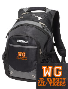 Willow Grove Elementary School Lil' Tigers Embroidered OGIO Fugitive Backpack