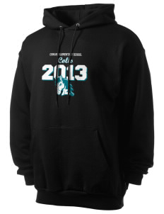 Conlee Elementary School Colts Men's 7.8 oz Lightweight Hooded Sweatshirt