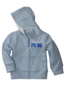 PS 86 Saint Lawrence School Tigers Baby Full Zip Hoodie