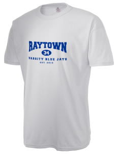 Raytown Middle School Blue Jays  Russell Men's NuBlend T-Shirt