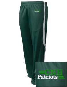 Captain Nathan Hale Middle School Patriots Embroidered Holloway Men's Tricotex Warm Up Pants