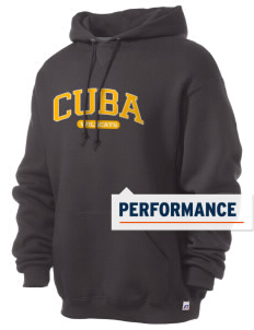 Cuba Middle School Wildcats Russell Men's Dri-Power Hooded Sweatshirt