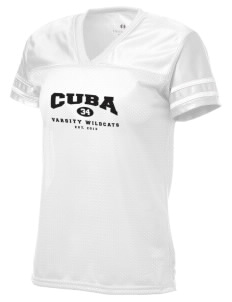 Cuba Middle School Wildcats Holloway Women's Fame Replica Jersey
