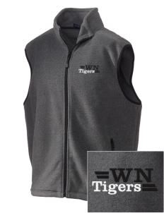 Willard North Elementary School Tigers Embroidered Unisex Wintercept Fleece Vest
