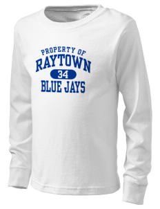 Raytown High School Blue Jays  Kid's Long Sleeve T-Shirt