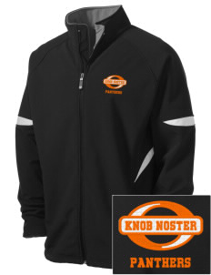 Knob Noster High School Panthers Holloway Embroidered Men's Radius Zip Front Jacket