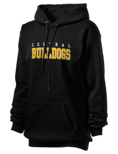 Central Elementary School Bulldogs Unisex Hooded Sweatshirt