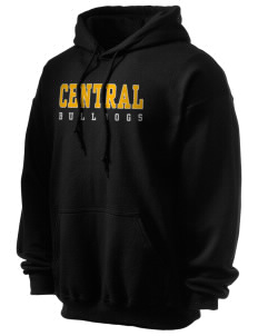 Central Elementary School Bulldogs Ultra Blend 50/50 Hooded Sweatshirt