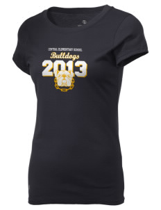 Central Elementary School Bulldogs Holloway Women's Groove T-Shirt