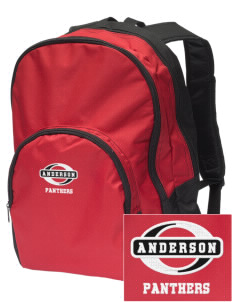 Anderson Elementary School Panthers Embroidered Value Backpack
