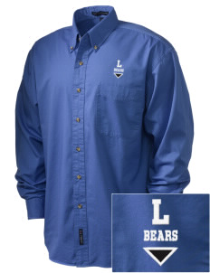 Lamotte Elementary School Bears Embroidered Tall Men's Twill Shirt