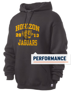 Horizon Middle School Jaguars Russell Men's Dri-Power Hooded Sweatshirt