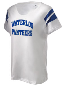 Waterloo School Panthers Holloway Women's Shout Bi-Color T-Shirt