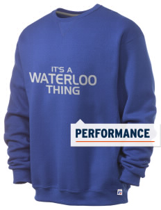 Waterloo School Panthers  Russell Men's Dri-Power Crewneck Sweatshirt