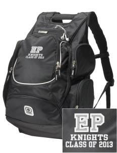 Eustis-Farnam Public School Knights  Embroidered OGIO Bounty Hunter Backpack