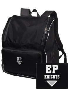 Eustis-Farnam Public School Knights Embroidered Holloway Backpack