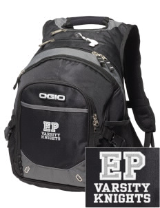 Eustis-Farnam Public School Knights Embroidered OGIO Fugitive Backpack