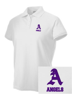 Robison Middle School Angels Embroidered Women's Technical Performance Polo