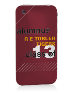 R E Tobler Elementary School Tigers Apple iPhone 3G/ 3GS Skin