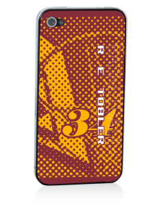 R E Tobler Elementary School Tigers Apple iPhone 4/4S Skin