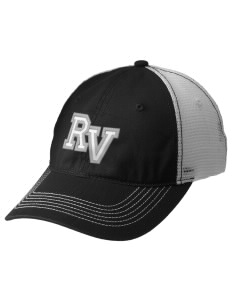 Ruby Valley Elementary School Mustangs Embroidered Mesh Back Cap