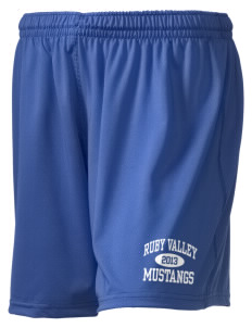 "Ruby Valley Elementary School Mustangs Holloway Women's Performance Shorts, 5"" Inseam"
