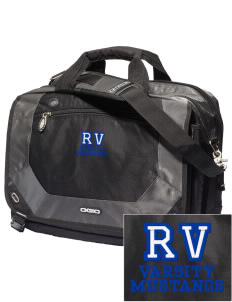 Ruby Valley Elementary School Mustangs Embroidered OGIO Corporate City Corp Messenger Bag