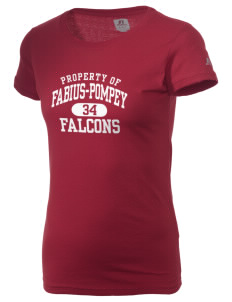 Fabius-Pompey MiddleHigh School Falcons  Russell Women's Campus T-Shirt