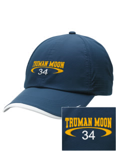 Truman Moon Elementary School Rockets Embroidered Nike Dri-FIT Swoosh Perforated Cap