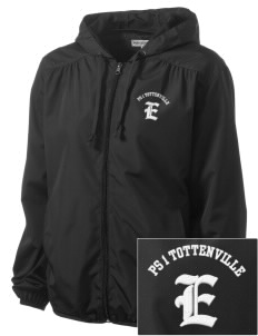 PS 1 Tottenville Eagles Embroidered Women's Hooded Essential Jacket