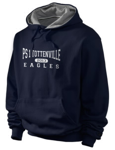 PS 1 Tottenville Eagles Champion Men's Hooded Sweatshirt