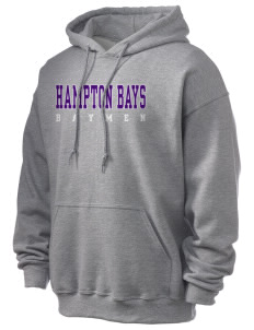 Hampton Bays Secondary School Baymen Ultra Blend 50/50 Hooded Sweatshirt