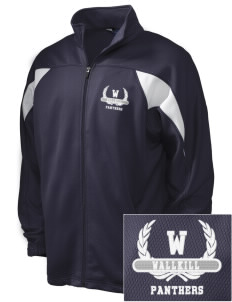 Wallkill High School Panthers Embroidered Holloway Men's Full-Zip Track Jacket