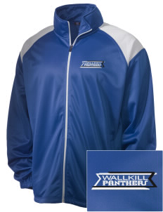 Wallkill High School Panthers Embroidered Men's Tricot Track Jacket