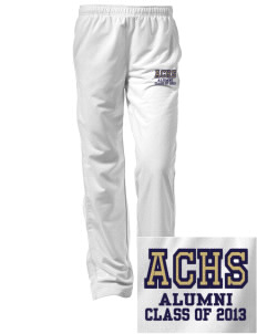 Alexander Central High School Cougars Embroidered Women's Tricot Track Pants