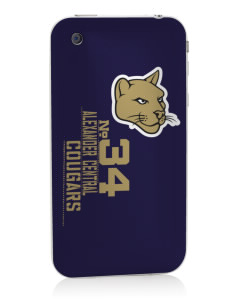 Alexander Central High School Cougars Apple iPhone 3G/ 3GS Skin