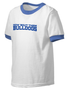 Durham School Bulldogs Kid's Ringer T-Shirt