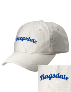 Ragsdale High School Tigers  Embroidered New Era Adjustable Unstructured Cap